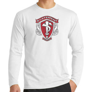 Statement  - Long Sleeve Performance Blend Tee Thumbnail